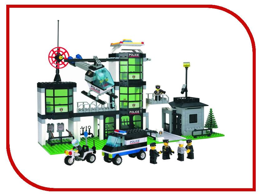 Конструктор Enlighten Brick Полиция 110 Полицейский участок Г13593