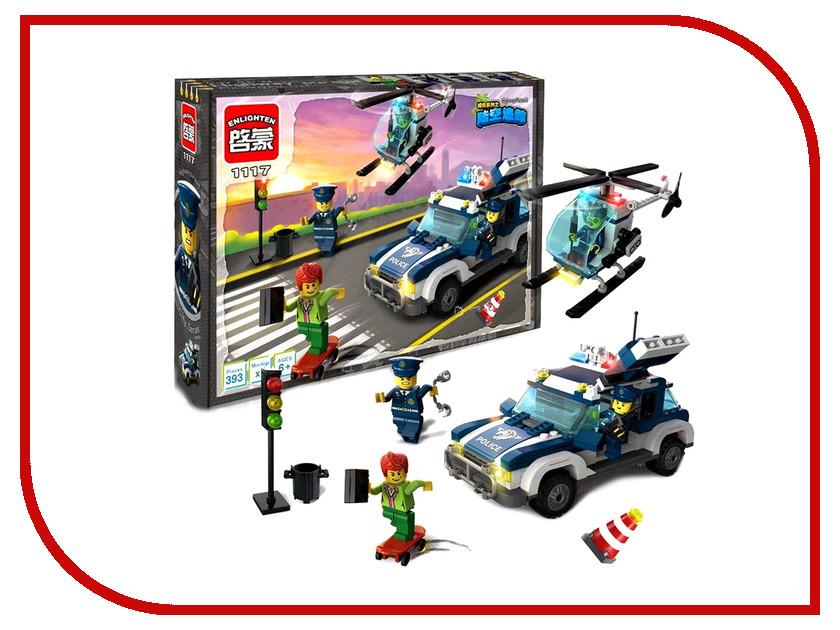 Игрушка Конструктор Enlighten Brick Город 1117 Преследдование по земле и воздуху Г72905<br>