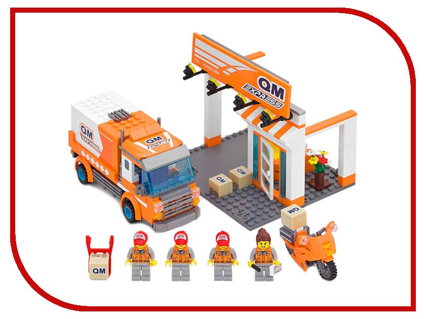 Конструктор Enlighten Brick Город 1119 Экспресс-доставка Г72907 конструктор enlighten brick город 1120 радостное путешествие г72908