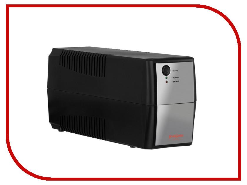 Источник бесперебойного питания ExeGate Power Back BNB-600 600VA Black-Silver 254852 back power pro lcd 800 euro