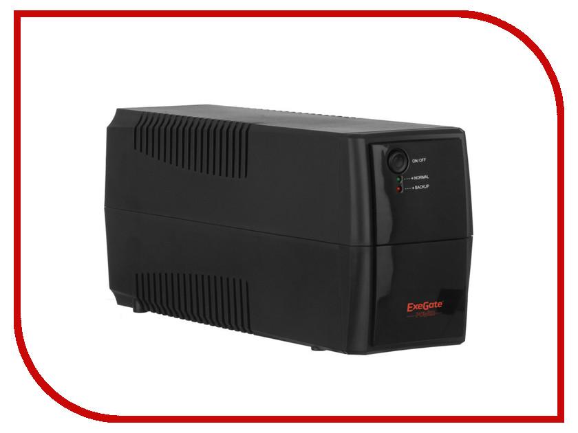 Источник бесперебойного питания ExeGate Power Back BNB-600 600VA Black 244543 источник бесперебойного питания ippon back power pro lcd 600