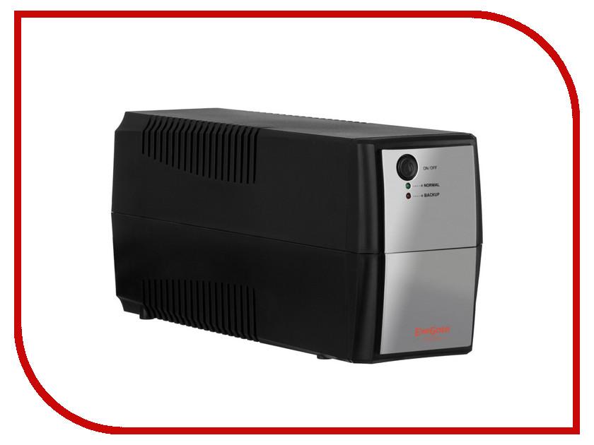 Источник бесперебойного питания ExeGate Power Back BNB-400 400VA Black-Silver 254850 back power pro lcd 800 euro