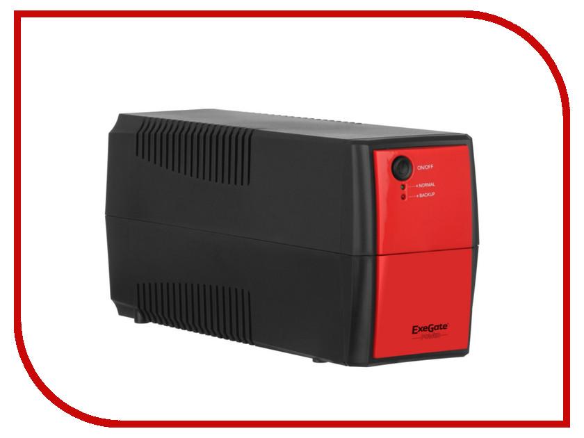 Источник бесперебойного питания ExeGate Power Back BNB-400 400VA Black-Red 254851 07818