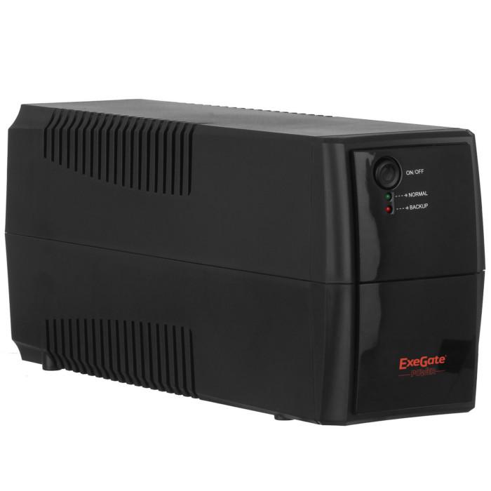 Источник бесперебойного питания ExeGate Power Back BNB-400 400VA Black 244541 источник бесперебойного питания fsp aga 400 ppf2401701