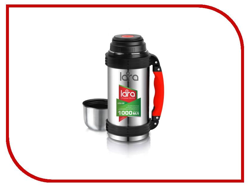 Термос Lara LR04-02 1L чайник lara lr00 02