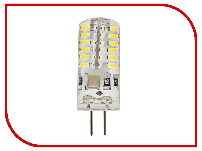 Лампочка Экономка G4 3W 160-260V 200Lm 4500K EcoG4_3W220V45 упаковка ламп 3 шт экономка рефлектор r50 6вт е14 230v 4500k белый свет