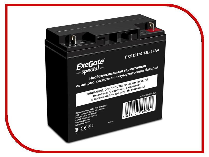 Аккумулятор для ИБП ExeGate Special EXS12170 255177