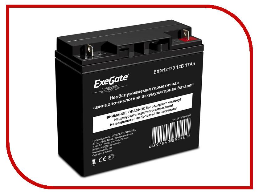 Аккумулятор для ИБП ExeGate Power EXG12170 160756