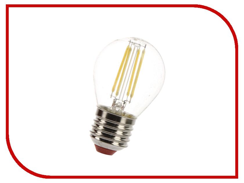 Лампочка Экономка Шарик 5W E27 160-260V 4500K EcoLEDFL5WGL45E2745<br>