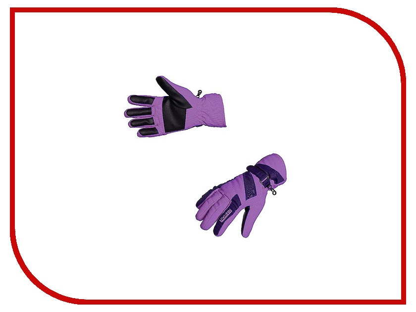 Перчатки Norfin Women Windstoper р.L Violet 705066-L