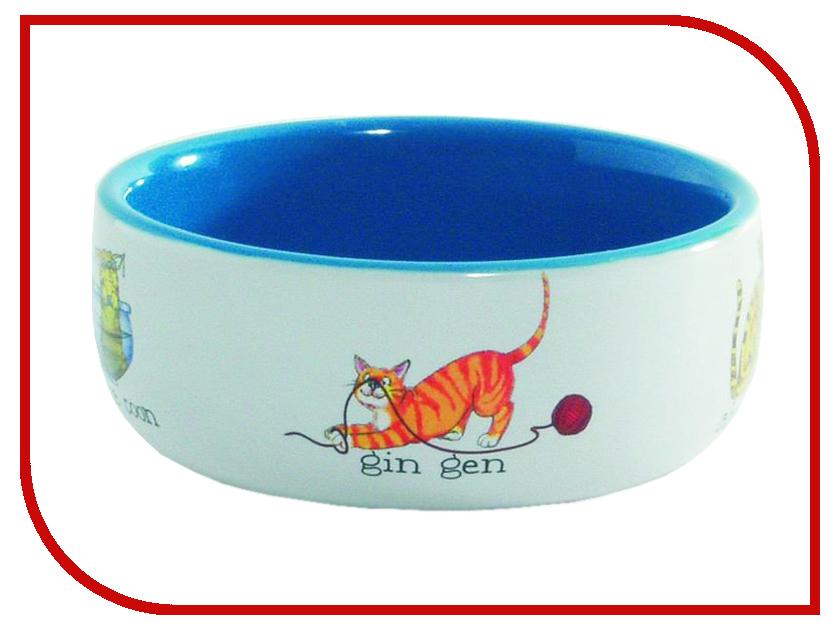 Миска для кошек Beeztees 651092 когтерез для кошек beeztees 8см