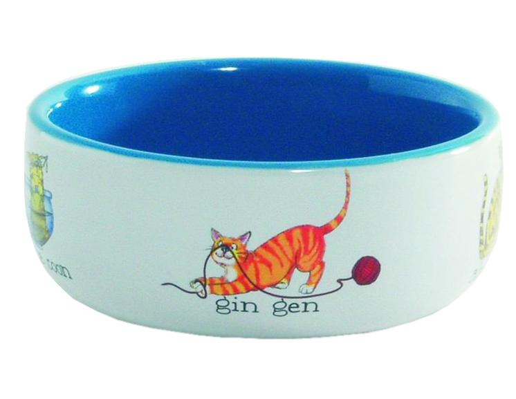 купить Миска для кошек Beeztees 651092 по цене 296 рублей