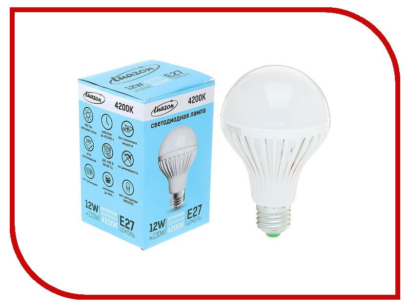 Лампочка Luazon Е27 12W 4200К SMD2835 960Lm 160-240V 1489114<br>