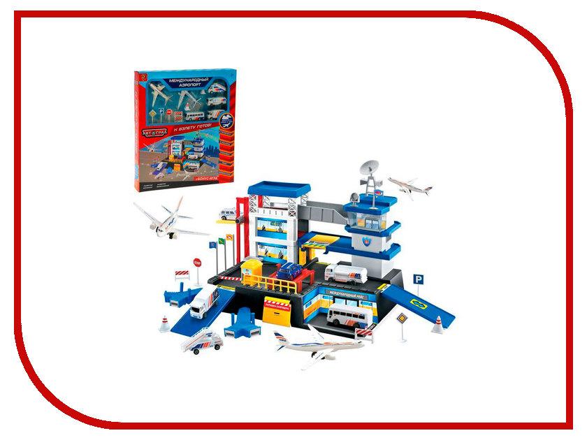 Автотрек Забияка Международный аэропорт 1448947 игрушка забияка армия zy260591 121537