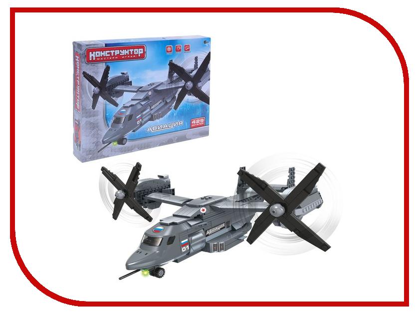 Конструктор Забияка Военный самолёт 1035395 конструктор конструктор забияка морской кит 1305720