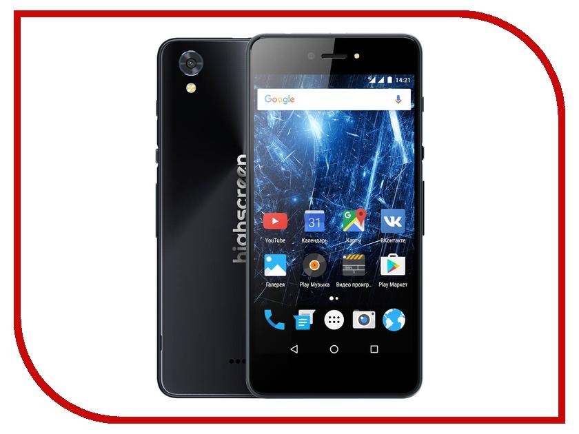 Сотовый телефон Highscreen Razar Pro Gray сотовый телефон highscreen easy power pro red