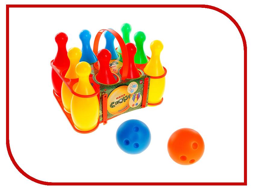 Игрушка Забияка Боулинг 182688 игрушка забияка армия zy260591 121537