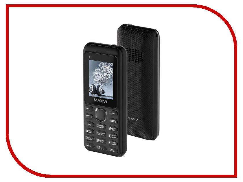 Сотовый телефон Maxvi P1 Black сотовый телефон maxvi c22 black