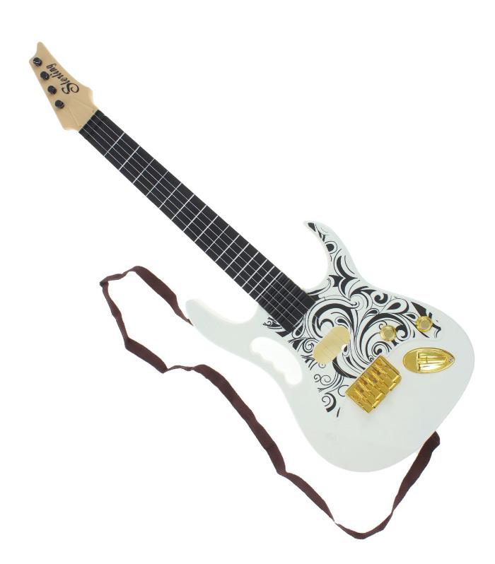 Детский музыкальный инструмент Забияка Рок-гитара 114264 b dot музыкальный инструмент b dot гитара с 2 лет