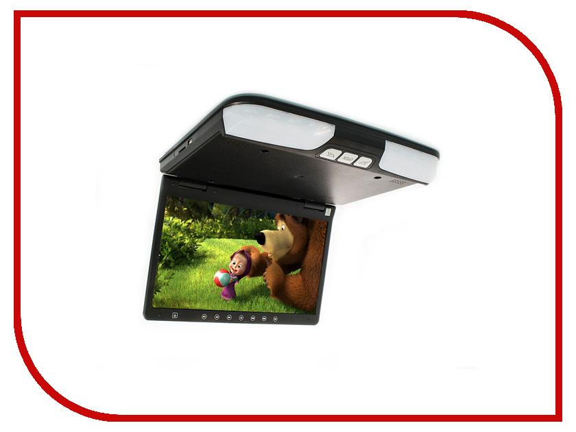 Монитор AVIS AVS1520T Black автомобильный потолочный монитор 15 6 со встроенным dvd плеером avis avs1520t cерый