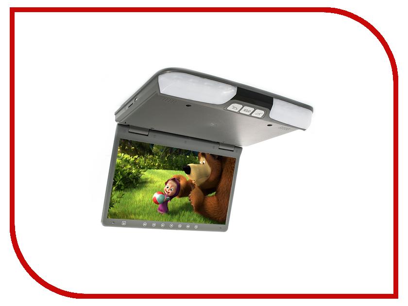 Монитор AVIS AVS1520T Grey автомобильный потолочный монитор 15 6 со встроенным dvd плеером avis avs1520t cерый