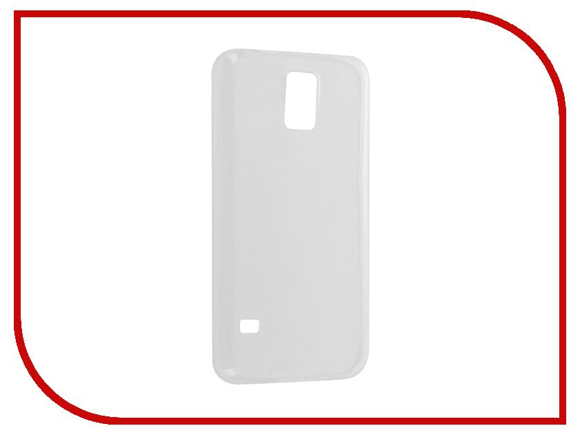 Аксессуар Чехол Samsung Galaxy S5 SM-G900 Krutoff Silicone Transparent 11503<br>