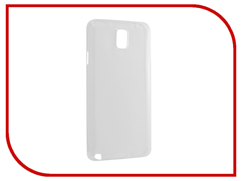 Аксессуар Чехол Samsung Galaxy Note 3 SM-N900 Krutoff Silicone Transparent 11485