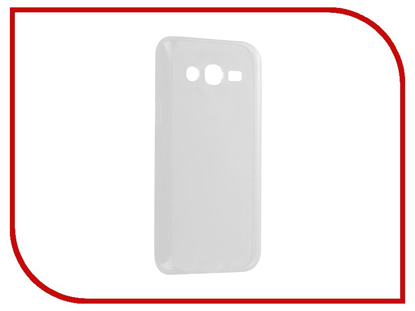 купить Аксессуар Чехол Samsung Galaxy J5 SM-J500 Krutoff Silicone Transparent 11701 по цене 521 рублей