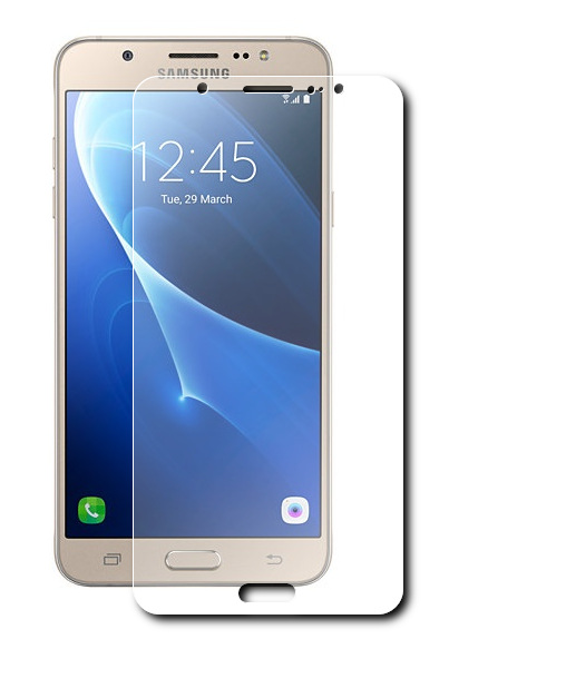Аксессуар Защитное стекло Krutoff для Samsung Galaxy J7 2016 SM-J710 0.26mm 21798 защитное стекло для samsung galaxy j7 neo sm j701f onext