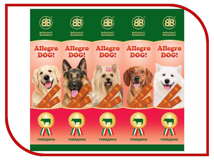 лакомство b&b allegro cat колбаски курица печень для кошек 6шт 36450 Лакомство B&B Allegro Dog Колбаски Говядина для собак (5шт) 36447
