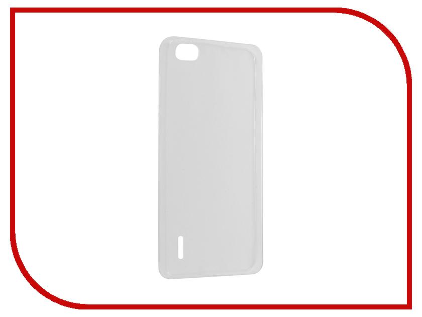 все цены на  Аксессуар Чехол Huawei Honor 6 Krutoff Silicone Transparent 11557  онлайн