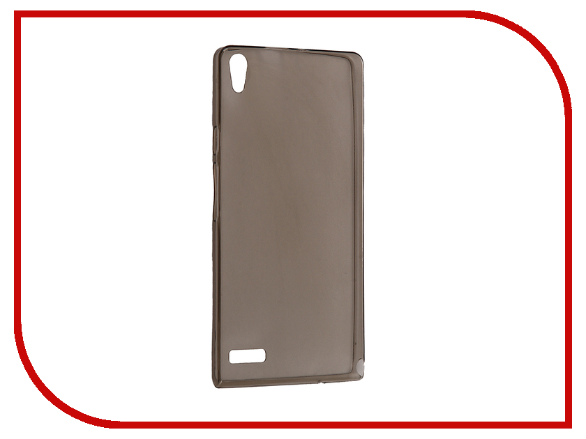 все цены на  Аксессуар Чехол Huawei Ascend P6 Krutoff Silicone Transparent-Black 11566  онлайн