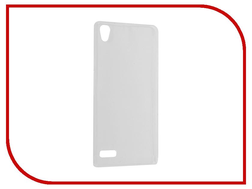 Аксессуар Чехол Huawei Ascend P6 Krutoff Silicone Transparent 11565<br>