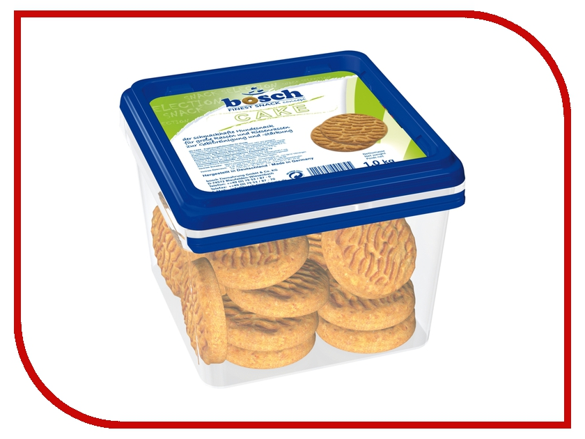 Лакомство Bosch Tiernahrung GmbH&Co Cake 1kg для собак 05845 лакомство bosch tiernahrung gmbh