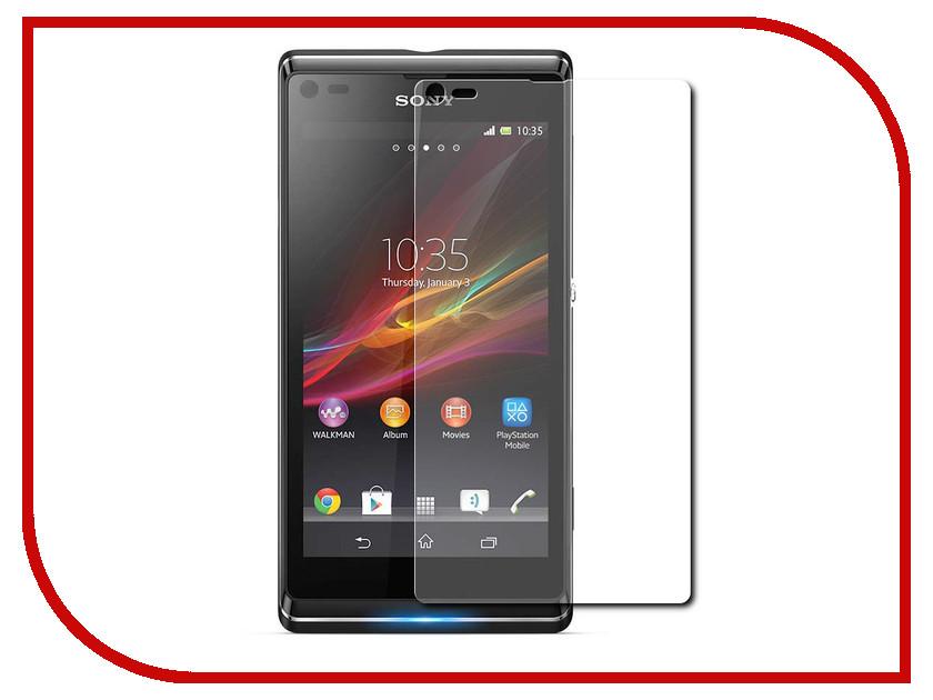 все цены на Аксессуар Защитная пленка Sony Xperia L Krutoff глянцевая 21717 онлайн