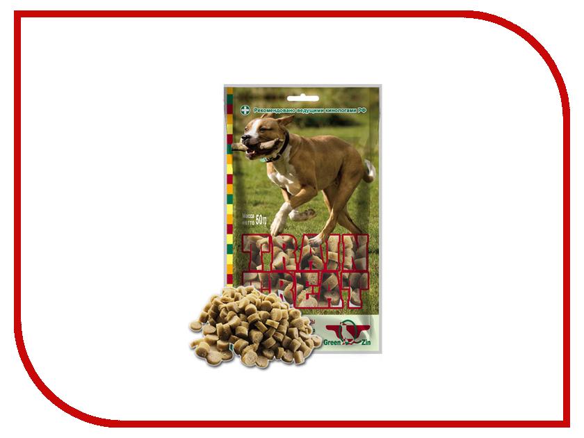 Лакомство Green Qzin Дрессура 2 мясо Индейка/Треска 50г для собак 50032<br>