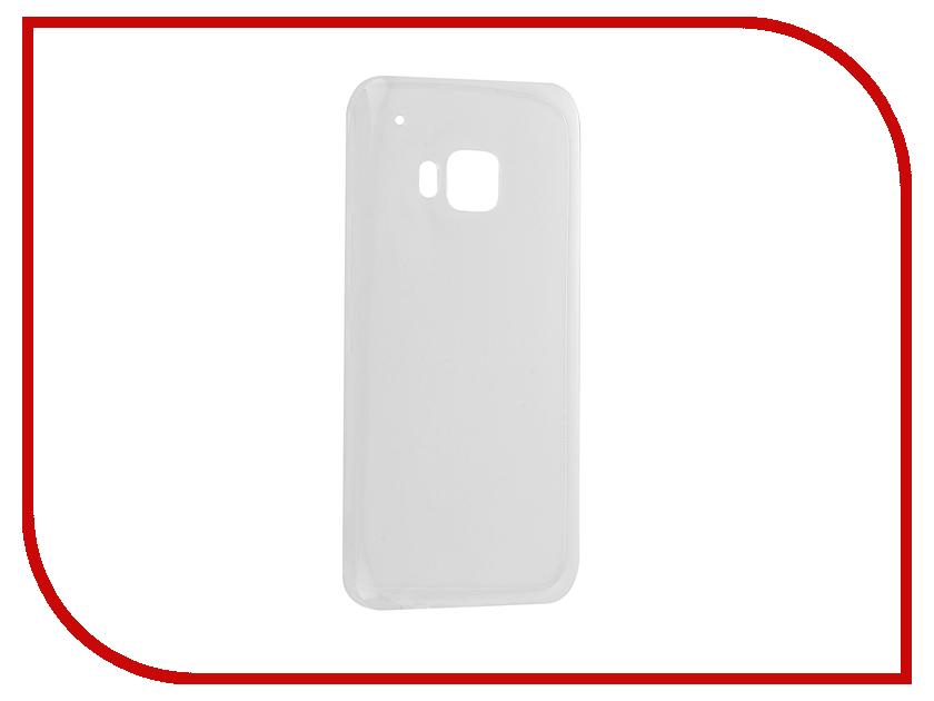 Аксессуар Чехол HTC One M9 Krutoff Silicone Transparent 10657