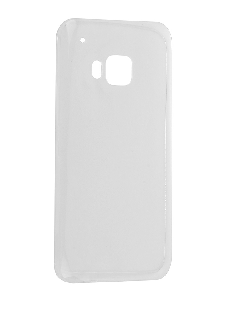Аксессуар Чехол Krutoff для HTC One M9 Silicone Transparent 10657 все цены