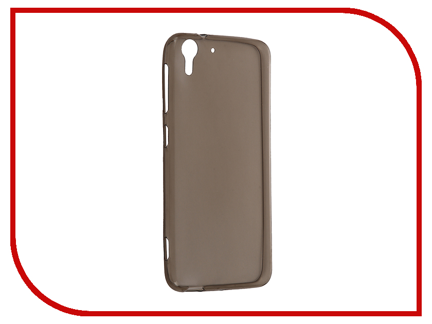 Аксессуар Чехол HTC Desire Eye Krutoff Silicone Transparent-Black 10665