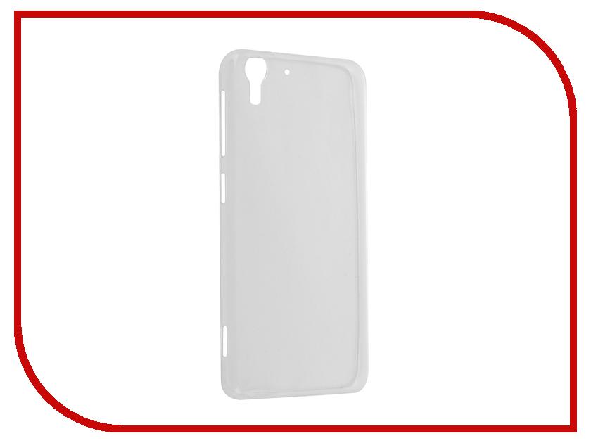 Аксессуар Чехол HTC Desire Eye Krutoff Silicone Transparent 10659 аксессуар защитное стекло htc desire 820 krutoff 0 26mm 21986