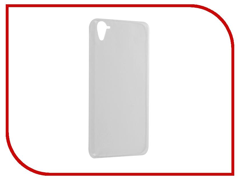 Аксессуар Чехол HTC Desire 826 Krutoff Silicone Transparent 10666