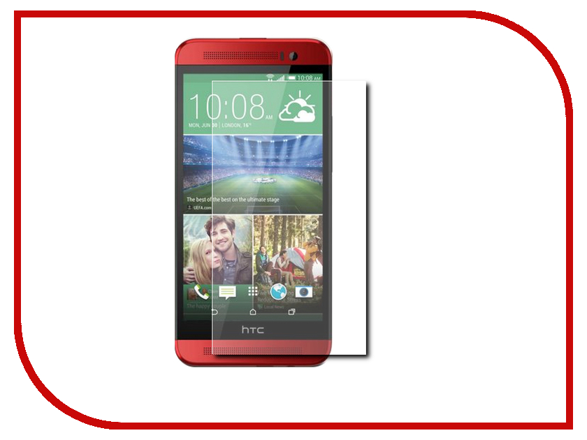 Аксессуар Защитное стекло HTC One E9 Krutoff 0.26mm 21999