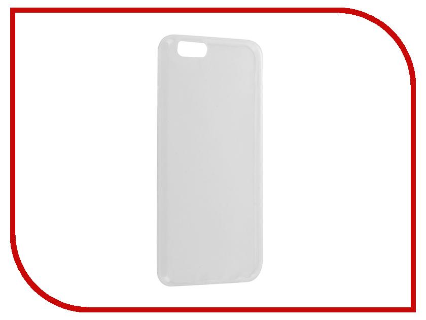 Аксессуар Чехол Krutoff Solicone для APPLE iPhone 6/6S 11733 аксессуар чехол аккумулятор krutoff x4 3800 mah для iphone 6 black 48186