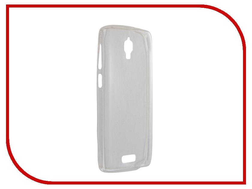Аксессуар Чехол Lenovo S660 Krutoff Silcone Transparent 10240<br>