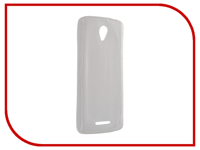 Аксессуар Чехол Lenovo A5000 Krutoff Silcone Transparent 10234