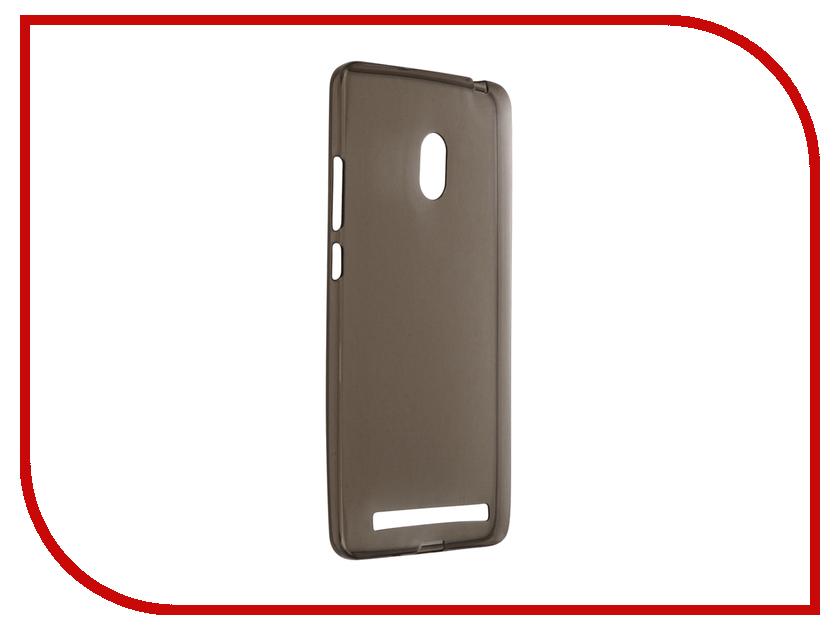 Аксессуар Чехол ASUS ZenFone 6 Krutoff Silicone Transparent-Black 10283