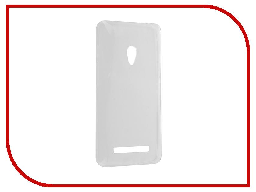 Аксессуар Чехол ASUS ZenFone 5 Krutoff Silicone Transparent 10280 аксессуар защитное стекло krutoff front