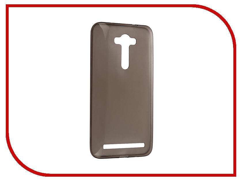 все цены на Аксессуар Чехол ASUS ZenFone 2 Laser ZE550KL Krutoff Silicone Transparent-Black 11582