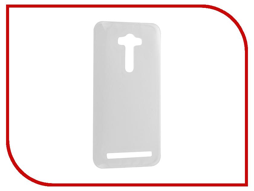 Аксессуар Чехол ASUS ZenFone 2 Laser ZE550KL Krutoff Silicone Transparent 11581