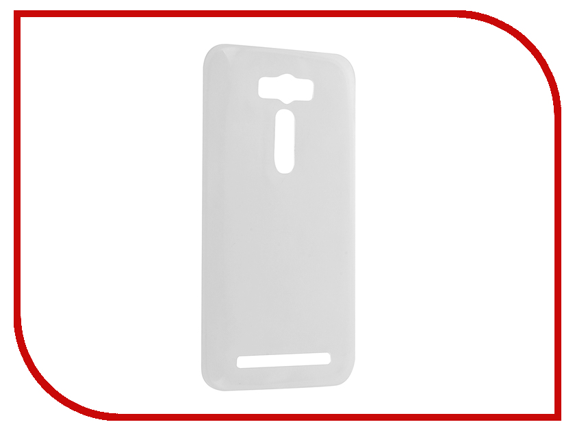 Аксессуар Чехол ASUS ZenFone 2 Laser ZE500KL Krutoff Silicone Transparent 11579<br>